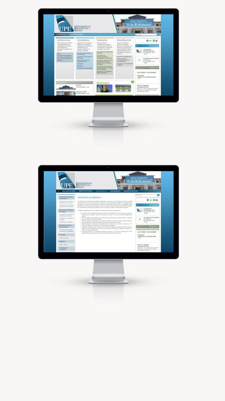 Desarrollamos una página institucional elegante, legible y equilibrada. Fomentado el adecuado uso y navegación recurrimos a la utilización de columnas para una mejor identificación de cada sección, reforzado además, por el empleo de diferencia por color.
