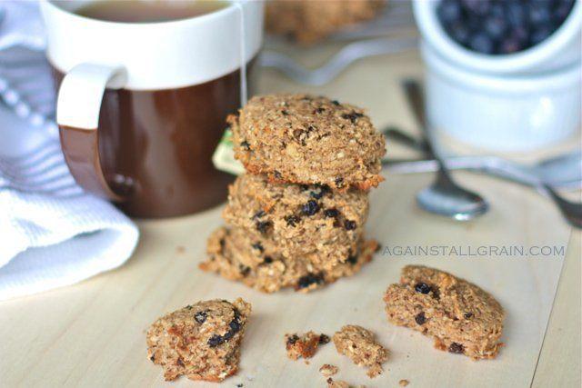 grain-free breakfast cookies (use in place of grape nut cookies)