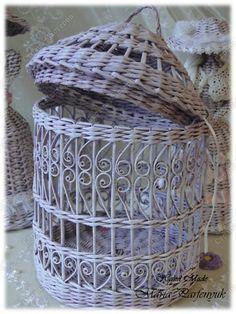 Поделка изделие Плетение Сиреневый туман Бумага газетная Трубочки бумажные фото 7