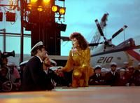 Marie Osmond entertains aboard USS Ranger as part of the Suzanne Somers special - early 1980s