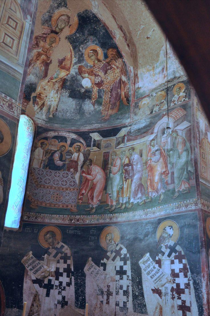 https://flic.kr/p/dPB9QK | Apse of the King's Church, Studenica Monastery, Serbia