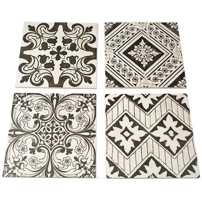 Haves 12 X 12 Porcelain Spanish Wall Floor Tile Porcelain Tile Artisanal Design Ivy Hill Tile