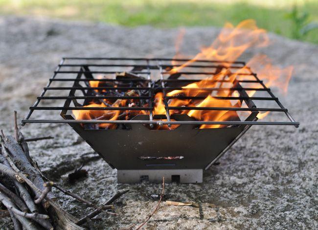 VARGO Titanium Fire Box Grill / バーゴ チタニウム ファイヤーボックスグリル