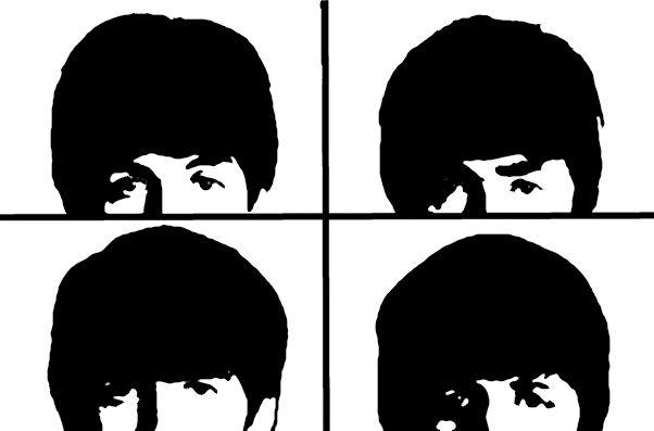 Stencils Beatles