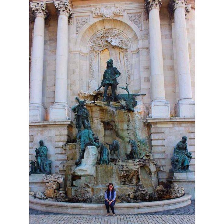 The Matthias Fountain at Buda Castle
