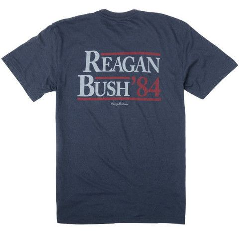 Reagan Bush '84 Short Sleeve Pocket Tee