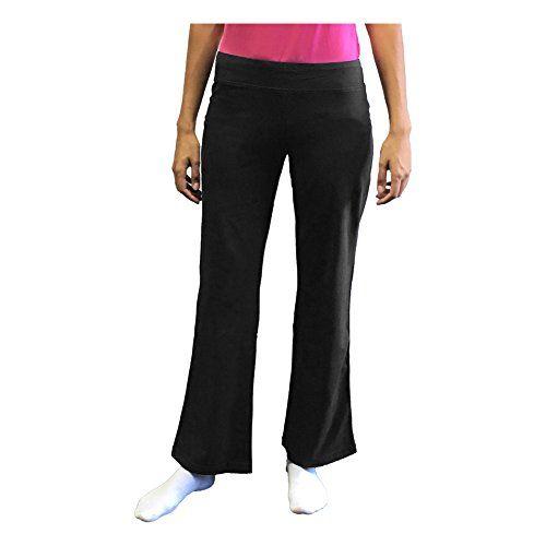 Elegant  Womens DriMore Core Bootcut Yoga Workout Pants  Regular Or Petite