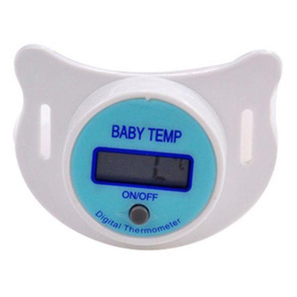Nowe Niemowlęta Monitor LED Temperatura Termometr Smoczek Dla Dzieci Dzieci Zdrowia Bezpieczeństwa LL2