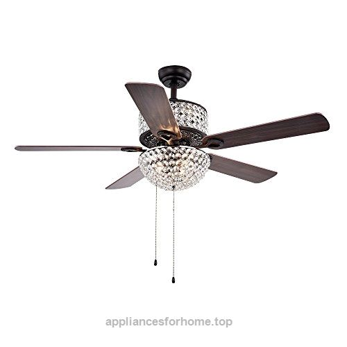 Warehouse of Tiffany CFL-8170BL Laure Crystal 6-light 52″ Ceiling Fan  Check It Out Now     $280.63     The Laure ceiling fan is a dazzling and elegantly styled ceiling fan with light assembly. The fan is topped with l ..  http://www.appliancesforhome.top/2017/03/20/warehouse-of-tiffany-cfl-8170bl-laure-crystal-6-light-52-ceiling-fan/