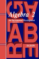 MATHEMATICS - Saxon Math Algebra 2: Saxon Math is possibly the most popular mathematics curriculum for homeschool families. The content is well laid out and easy to follow and forms a solid foundation in mathematics.