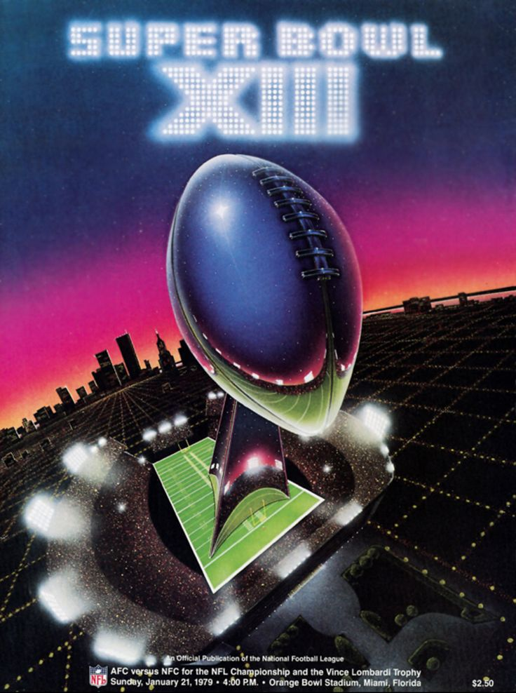 Super Bowl XIII Program Jan 1979