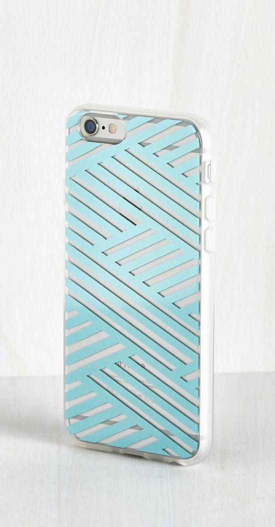 Shine on the Line iPhone 6 Case in Aqua