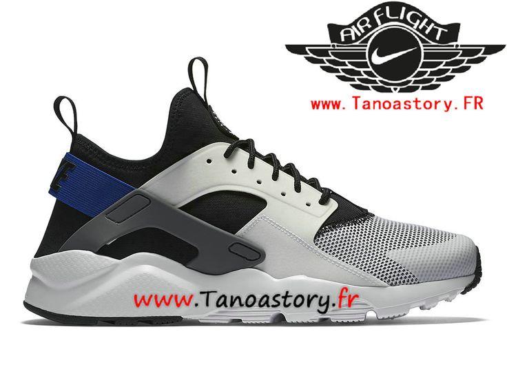 Chaussures Homme Nike Air Huarache Ultra Prix Pas Cher Gris Bleu 819685_100-819685_100-Nike Basketball - Nike Site Officiel | Tanoastory.fr