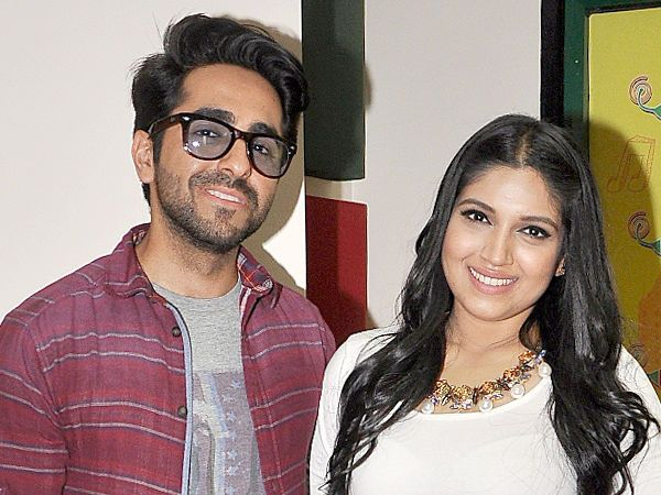 'Shubh Mangal Saavdhan': Ayushmann Khurrana and Bhumi Pednekar are adorable in the first look
