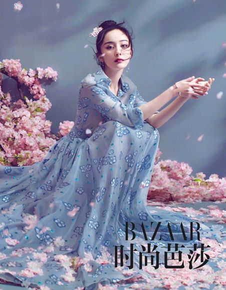 Yang Mi and Mark Chao pose for fashion magazine | China Entertainment News