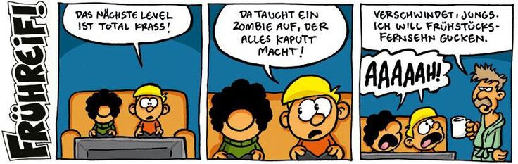 Ralph Ruthe very #funny #cartoon Frühreif