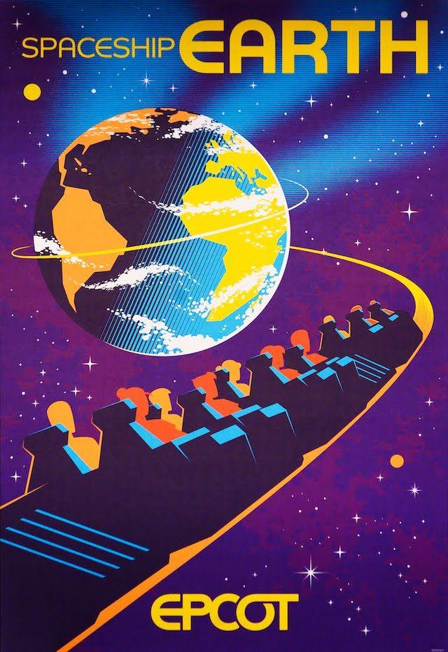 Disney EPCOT Poster United Kingdom 0359