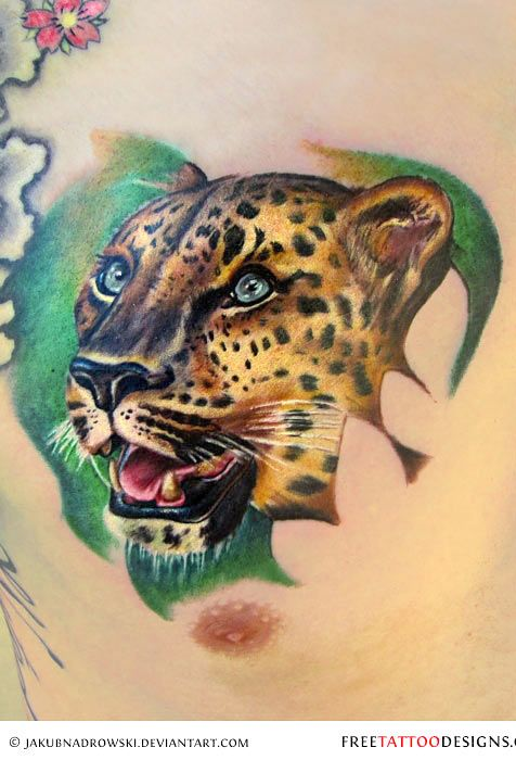 159 best tiger tattoos images on pinterest tiger tattoo for Panther tiger tattoo