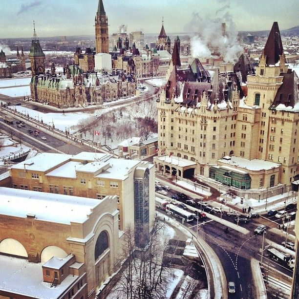 downtown ottawa.