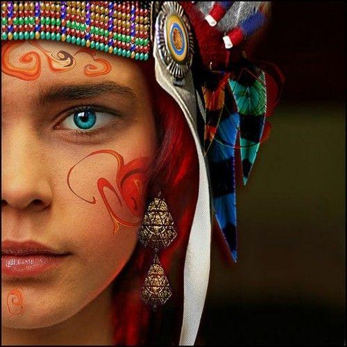 Ethnic Digital Art