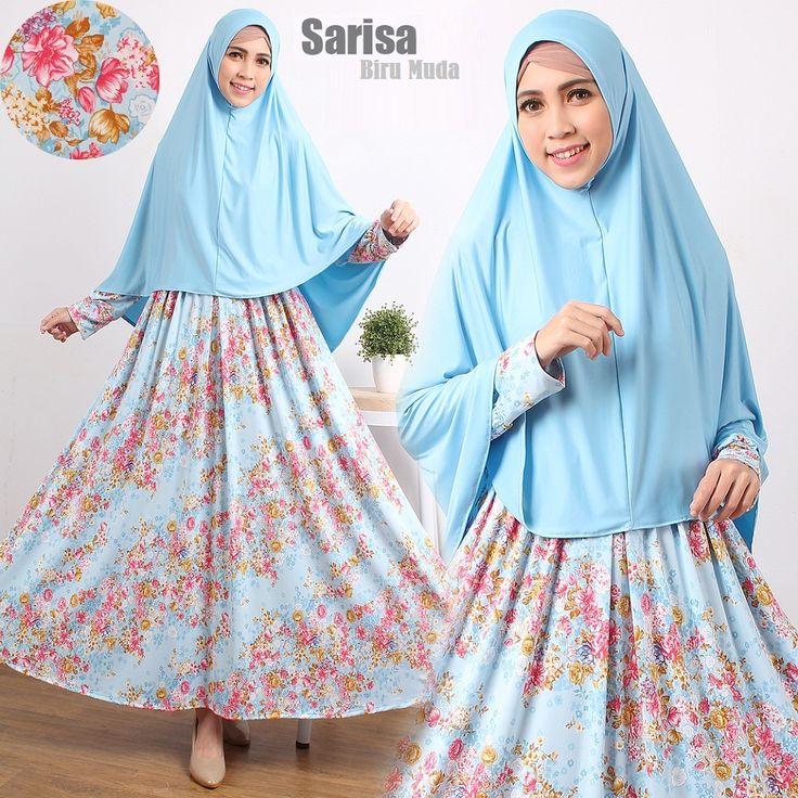 Baju Muslim Gamis SARISA Syari ini di design Modern dan dengan warna serasi serta menggunakan bahan yang nyaman di pakai. di proses dengan bahan yang adem dan meyerap keringat baju ini sangat cocok di bawa saat acara pengajian, arisan atupun dipakai dalam sehari-hari. Detail Produk Baju Muslim...
