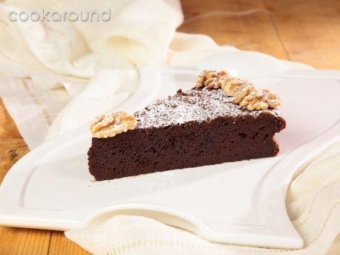 Torta fondente al cioccolato: Ricette Dolci | Cookaround