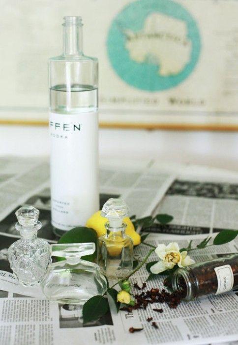 Cómo hacer perfume para el hogar