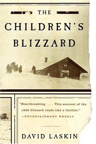"""Great book, but very sad at parts. After all the storm was called """"The Children's Blizzard"""" for a reason. Good account of how weather affected life in the midwest in the mid- to late-1800s. Reads like a novel."""