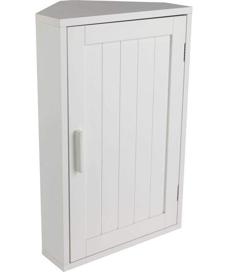 Buy Wooden Corner Bathroom Cabinet - White at Argos.co.uk - Your Online Shop for Bathroom cabinets.