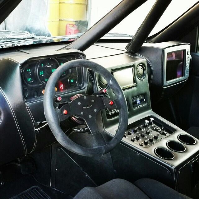Super Clean Prerunner Interior