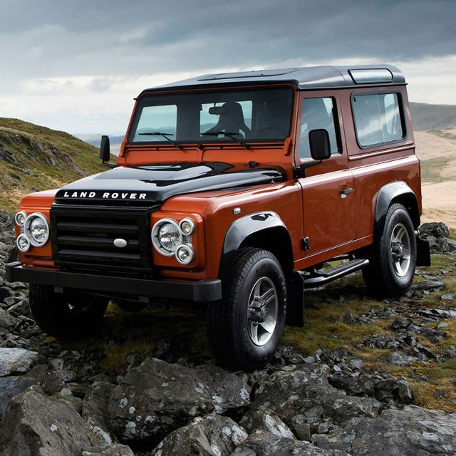Land Rover Launches Exciting 'Fire & Ice' Defender Limited