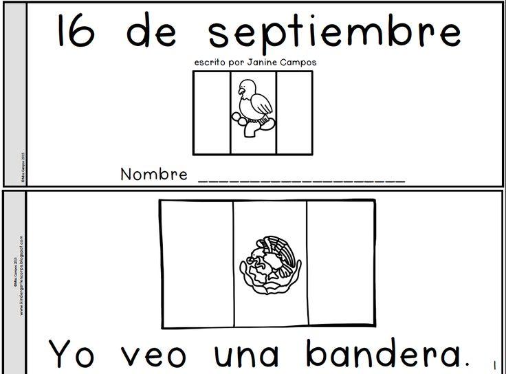 GRATIS - FREE - librito para el 16 de septiembre, mexican independence day.