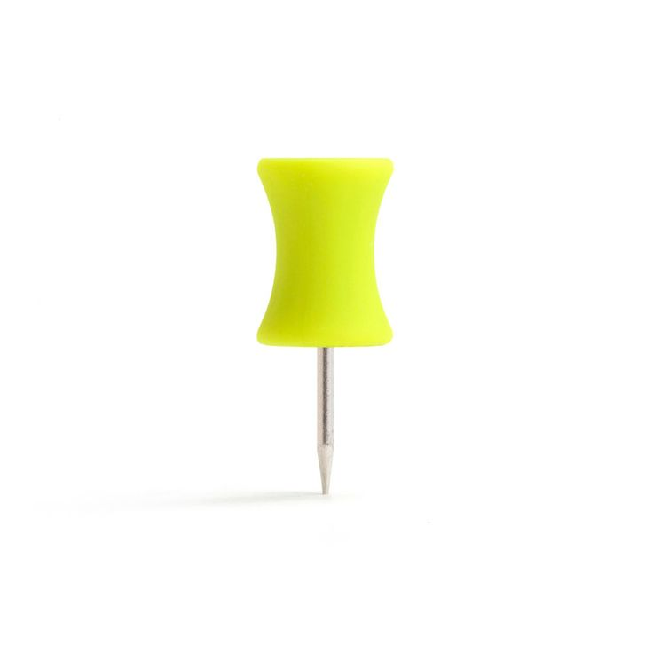 Lime Green Push Pins #limegreen #workhappy