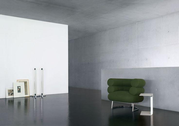 BIBENDUM CHAIR / Eileen Gray – nowoczesna STODOŁA | wnętrza & DESIGN | projekty DOMÓW | dom STODOŁA