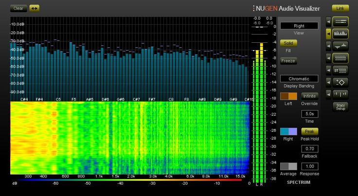 Nugen Audio Visualizer 2: Werkzeuge für Analyse & Visualisierung  - http://www.delamar.de/musiksoftware/nugen-audio-visualizer-2-25836/?utm_source=Pinterest&utm_medium=post-id%2B25836&utm_campaign=autopost