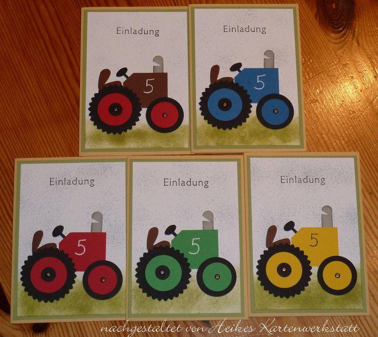 Einladungskarten Kindergeburtstag Basteln Pferde