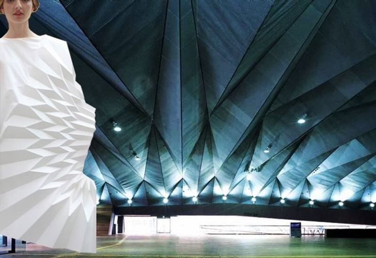 Origami Architecture: Foreign Office Architects Fashion: Yuki Hagino