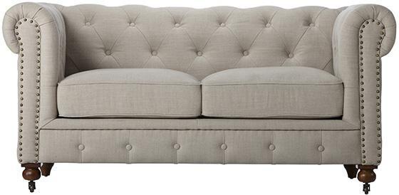 Gordon Tufted Loveseat Perfect For Our Front Room Lr Pinterest Loveseat Sofa
