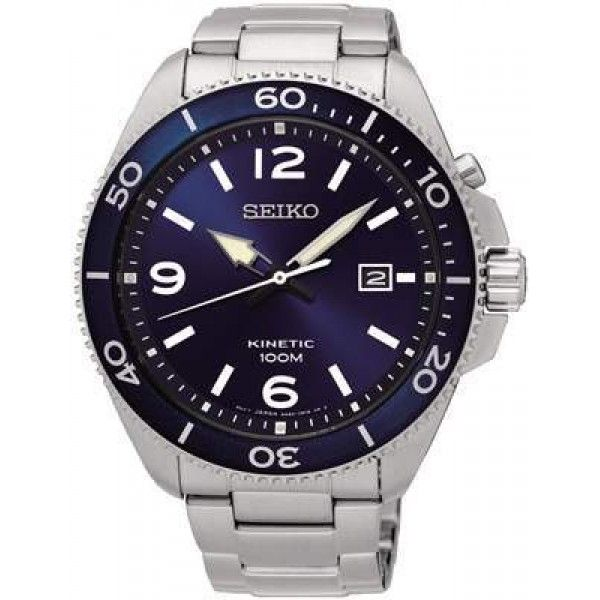 FREE SHIPPING #amazing #beautiful #timeless #time #Seiko #watches #lifestyle #design  #mensfashion #womensfashion #ska745p1 Buy now https://feeldiamonds.com/swiss-luxury-watches-for-men-women/seiko-watches-offers-online/seiko-ska745p1-men's-neo-sports-kinetic,-blue-dial-watch's-neo-sports-kinetic,-blue-dial-watch