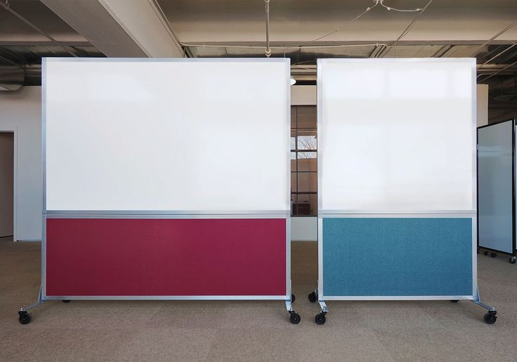 Jot those good ideas down! Our double-sided DivideWrites come 4, 5, & 6 feet wide.