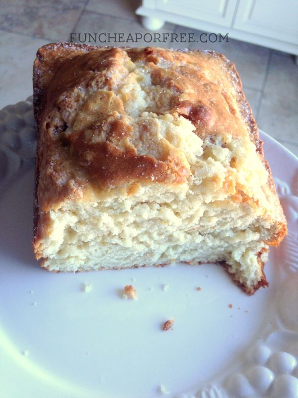 Best banana bread recipe EVER. So easy! From FunCheapOrFree.com
