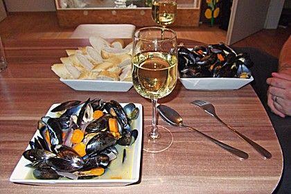 Muscheln in Weißwein (Rezept mit Bild) von Anne08 | Chefkoch.de