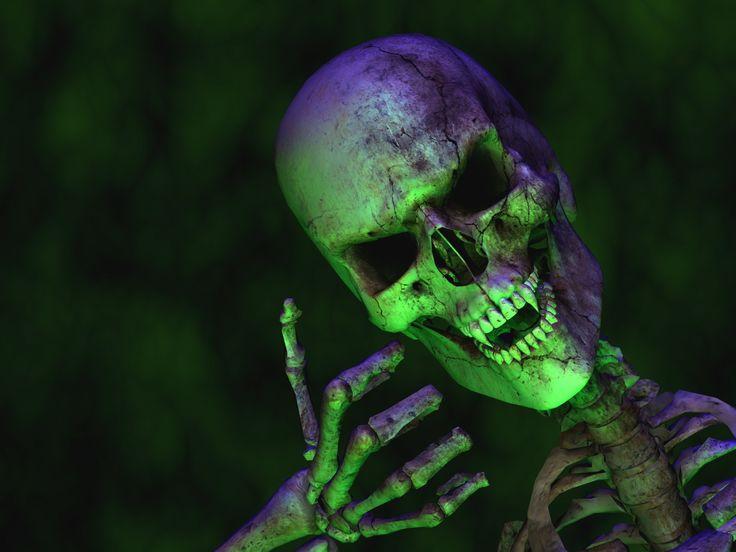 Fond d'écran hd : squelette 3D