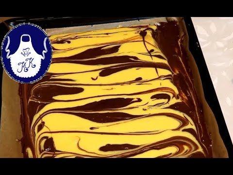 Pudding Kuchen - Blechkuchen, blitzschnell gemacht - YouTube