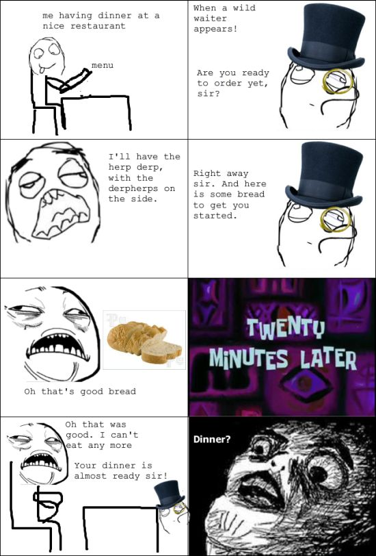 hilarious memes | Funny Meme Comic – The Bread Trap