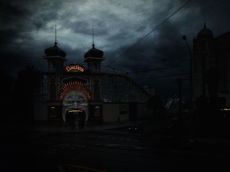 Christopher Rimmer doing what he does best… finding the bizarre in the familiar.    Explore fine art photography at Angela Tandori Fine Art.  #lunapark #photography #art #fineart
