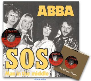 """Today in 1975 Abba's """"SOS"""" entered the Billboard Singles chart in America where it reached number 15 #Abba #Agnetha #Frida #Vinyl #America http://abbafansblog.blogspot.co.uk/2017/09/8th-september-1975_8.html"""
