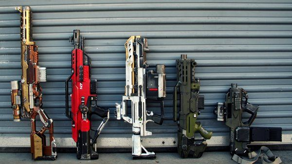 The Best Nerf Guns for Custom Painting and Modding - Tested - These would be sweet to have.