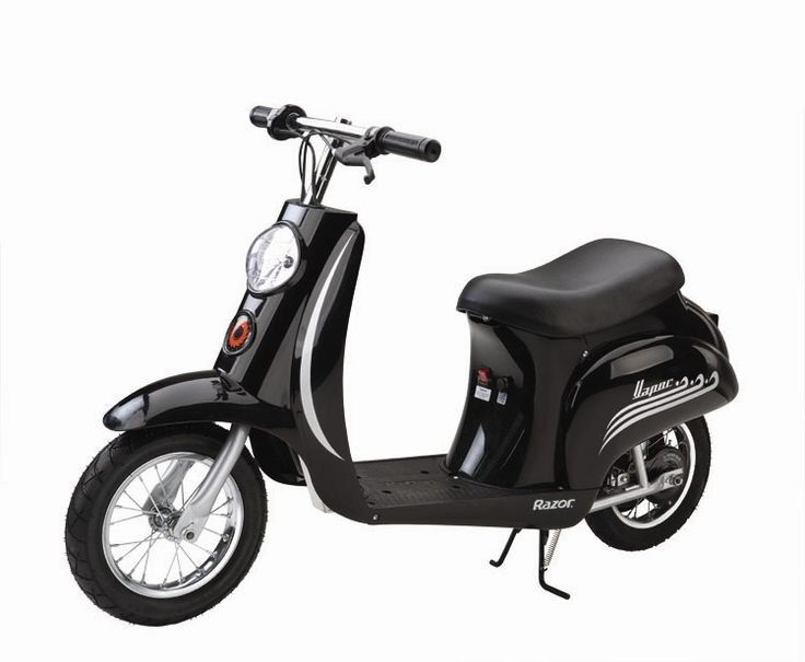 Razor Black Vintage 24v Electric Scooter 163 339 95 Kids