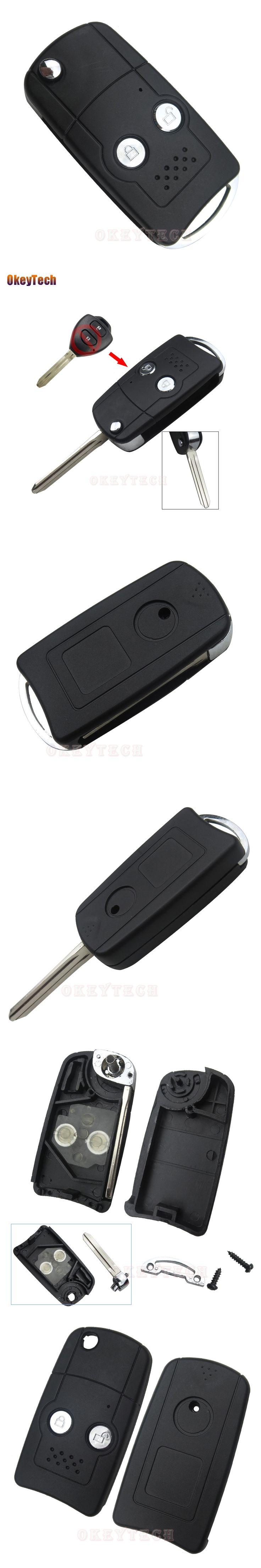 Best 25 auto key ideas on pinterest car key holder fiat stilo okeytech for toyota 2 button modified flip folding auto key blank remote car cover key fob fandeluxe Gallery